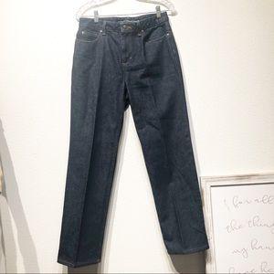 Liz Claiborne size 6 classic straight blue jeans